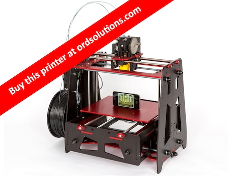 5 Color Material 3D Printer With Liquid Cooling