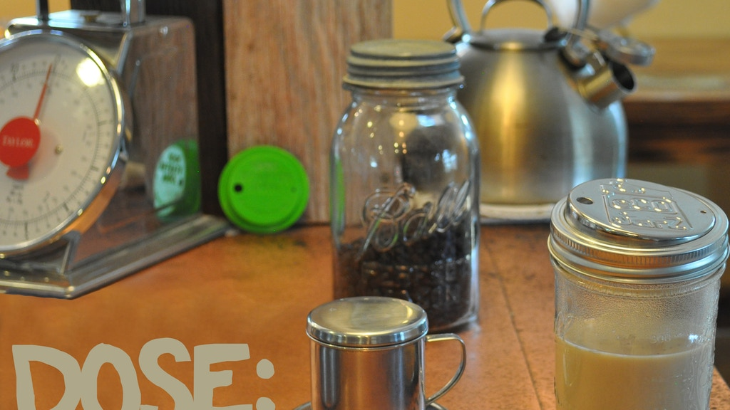 DOSE:  Stainless, Filterless, coffee and tea for mason jars project video thumbnail