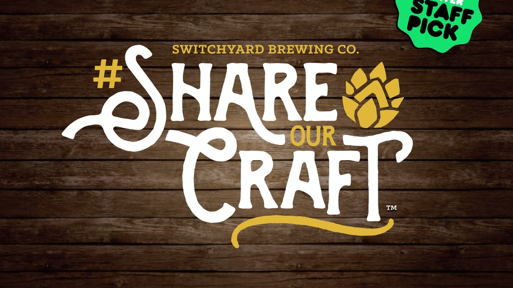 Switchyard Brewing Company | #ShareOurCraft™ project video thumbnail