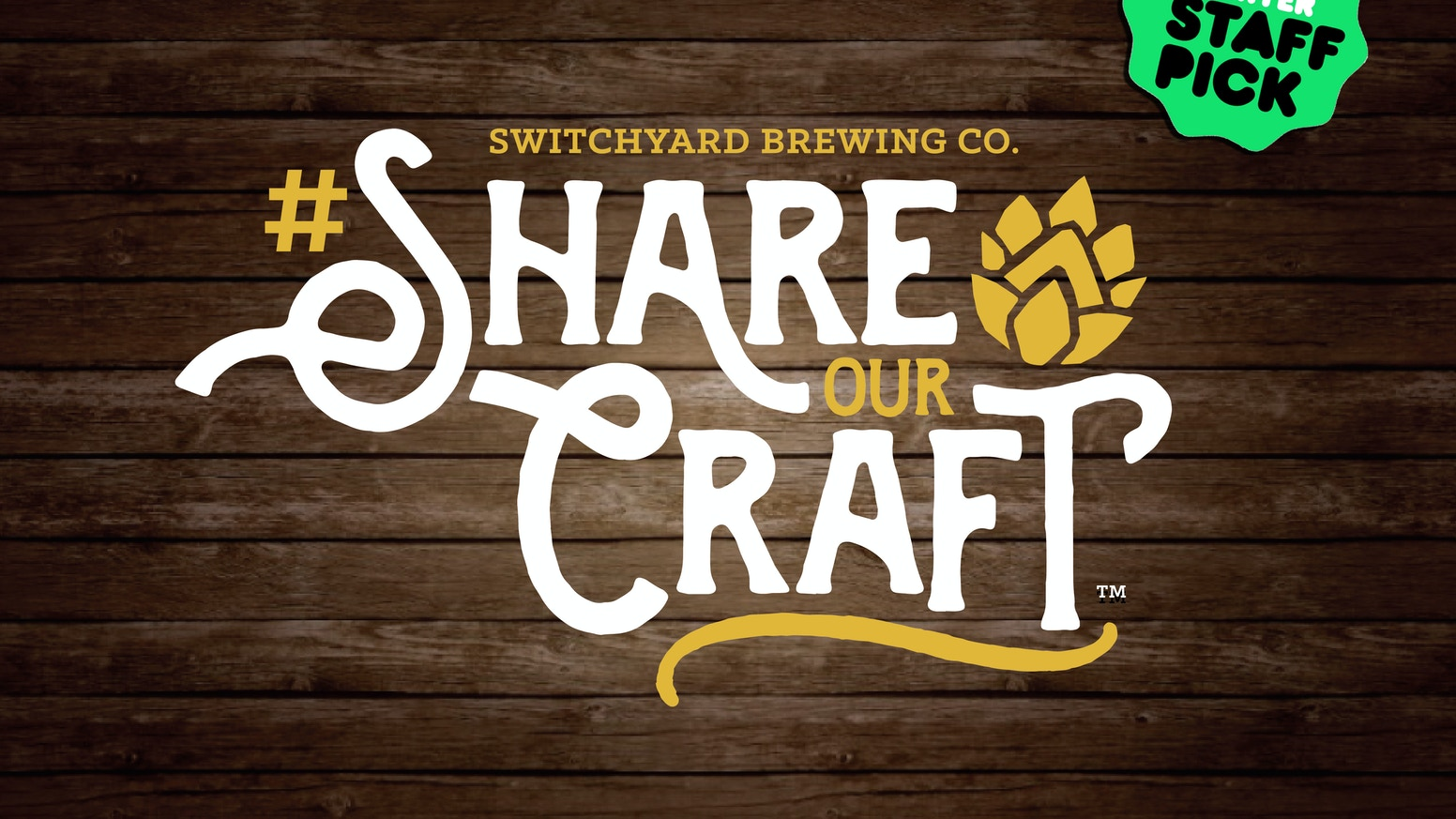 Become a Switchyard Starter today & help us #ShareOurCraft with others in our destination brewpub.