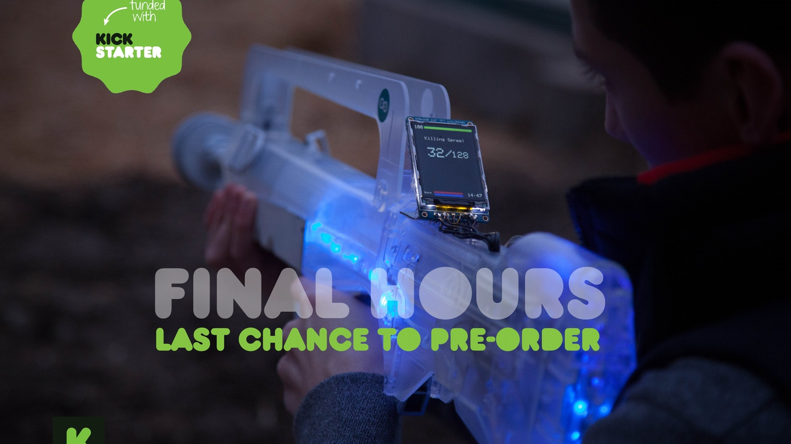Skirmos Open Source Laser Tag By Kickstarter 115 Projects Diy Circuit Board Falsh Toy Integrated Electronic The Most Advanced System Create Your Own Indoor Or Outdoor Battlefield