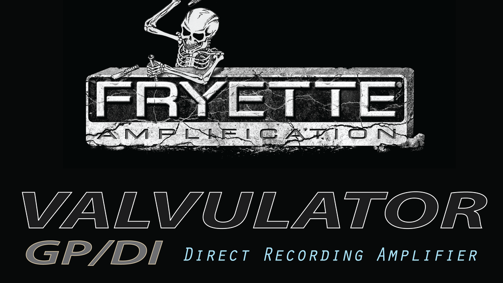 Fryette Valvulator GP/DI Tube Guitar Recording Amplifier project video thumbnail