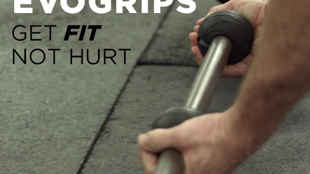 EvoGrips - The Evolution of Ergonomics. Get Fit, Not Hurt project video thumbnail