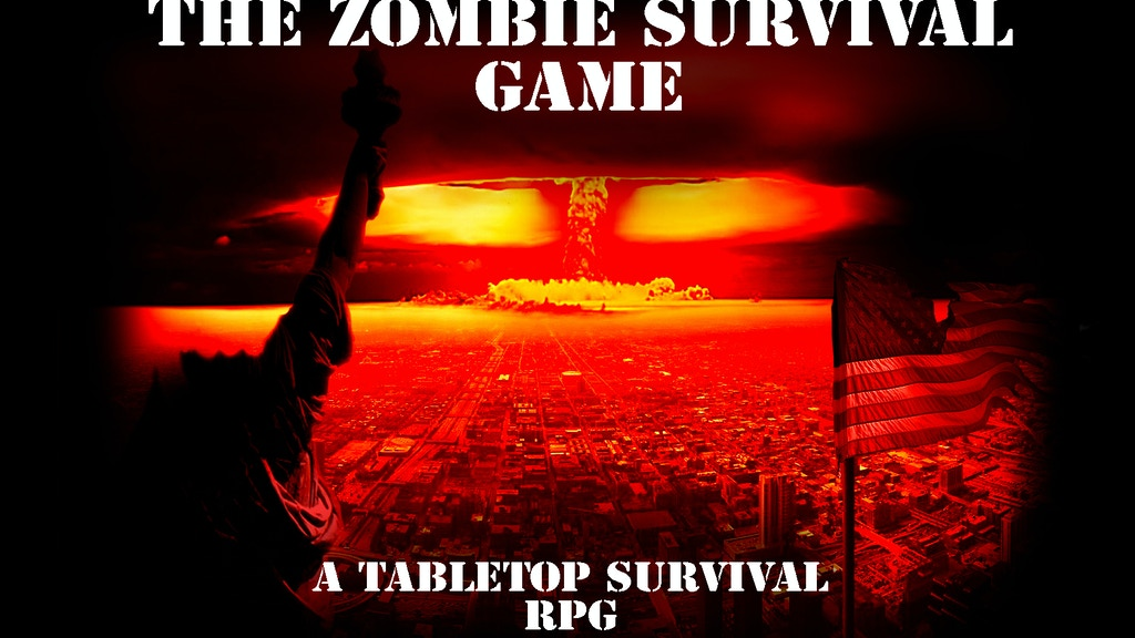 Project image for Zombie Survival Board Game