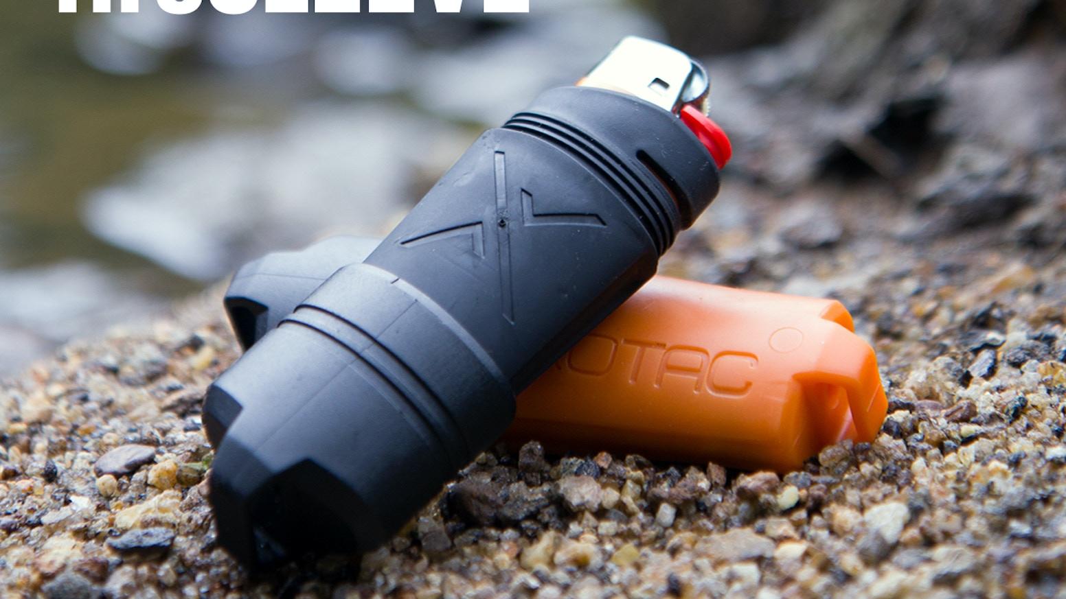fireSLEEVE: Waterproof Lighter by Exotac Inc — Kickstarter