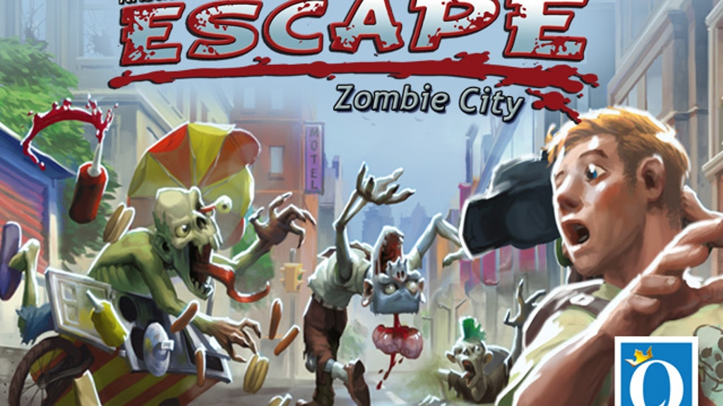Escape - Zombie City project video thumbnail