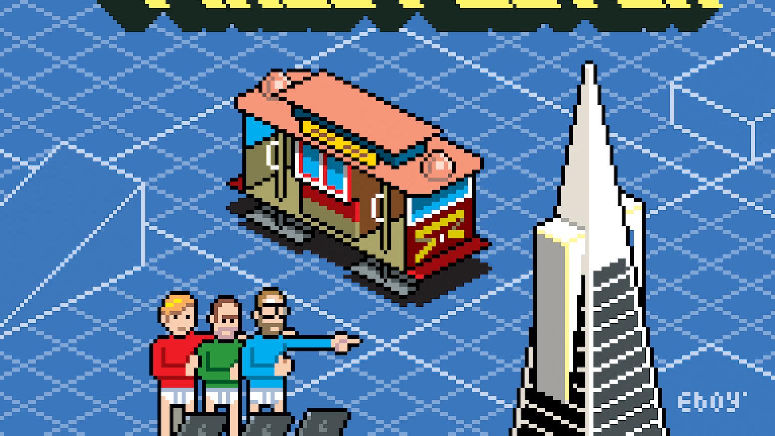 San Francisco Pixel Poster by eBoy — Kickstarter