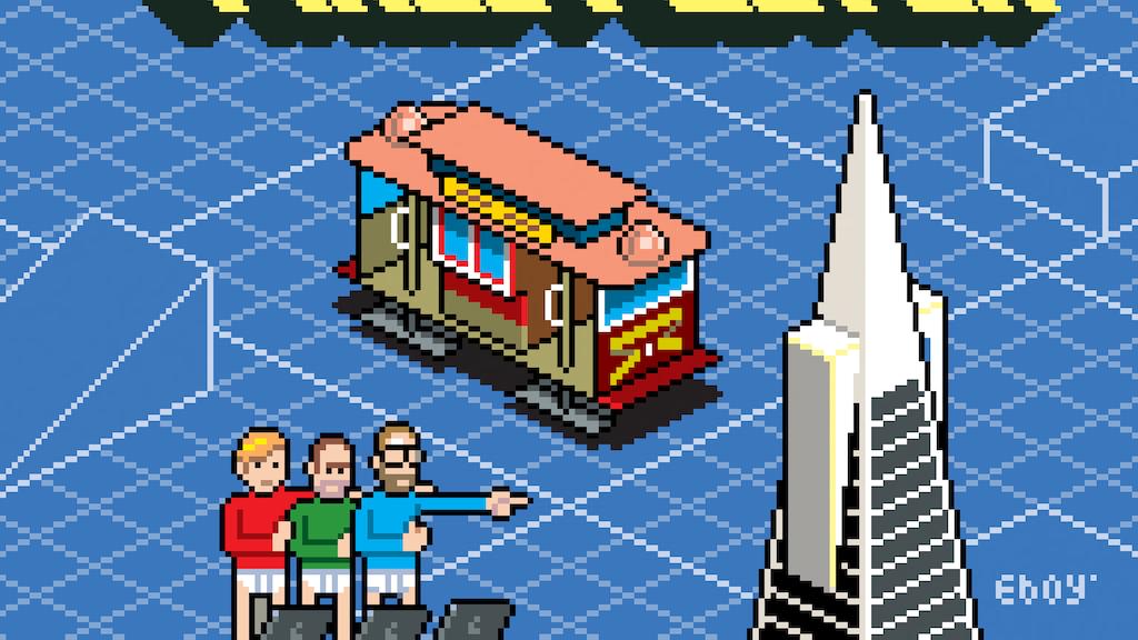 San Francisco Pixel Poster project video thumbnail