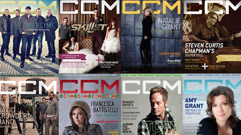 Bring CCM Magazine Back in Print project video thumbnail