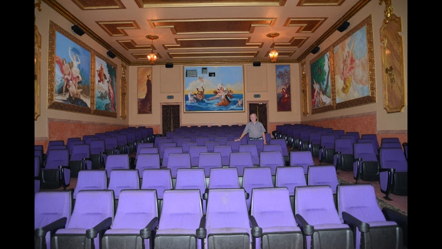 Historic tahqualand theatre of newberry up michigan by for Newberry motors newberry michigan