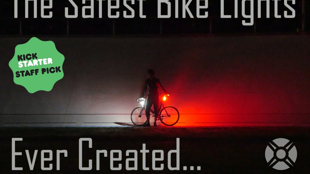 The Safest & Brightest 360° Bike Lights; Made in the USA project video thumbnail