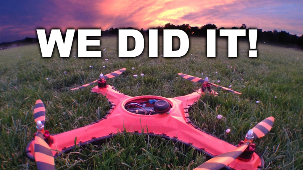 Game of Drones - The World's Toughest Drone Airframe. project video thumbnail