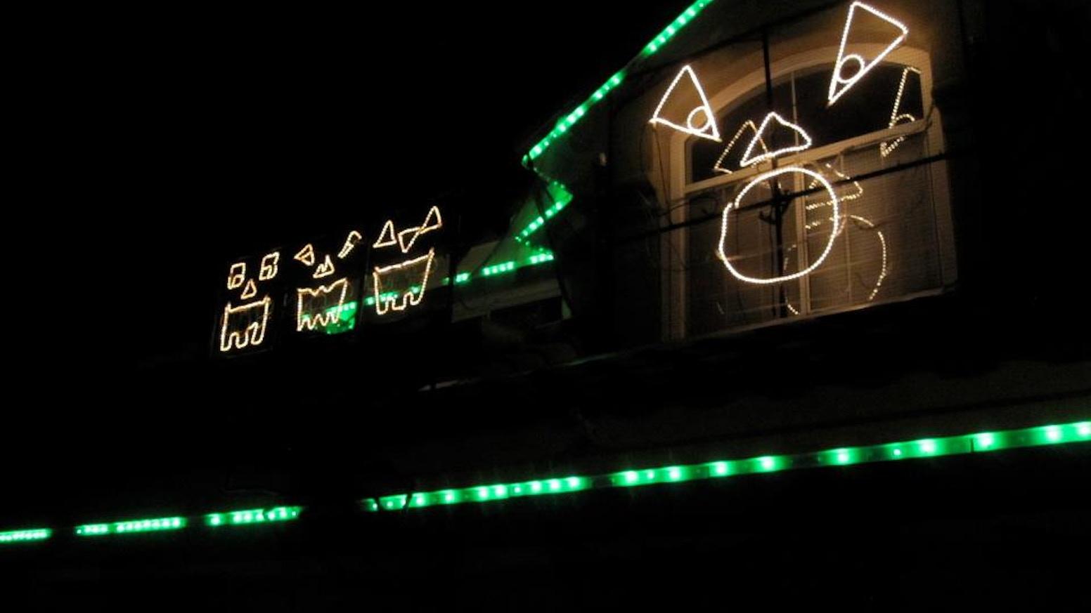Talega Holiday: Annual Halloween Light Show! by Scott Johnson ...