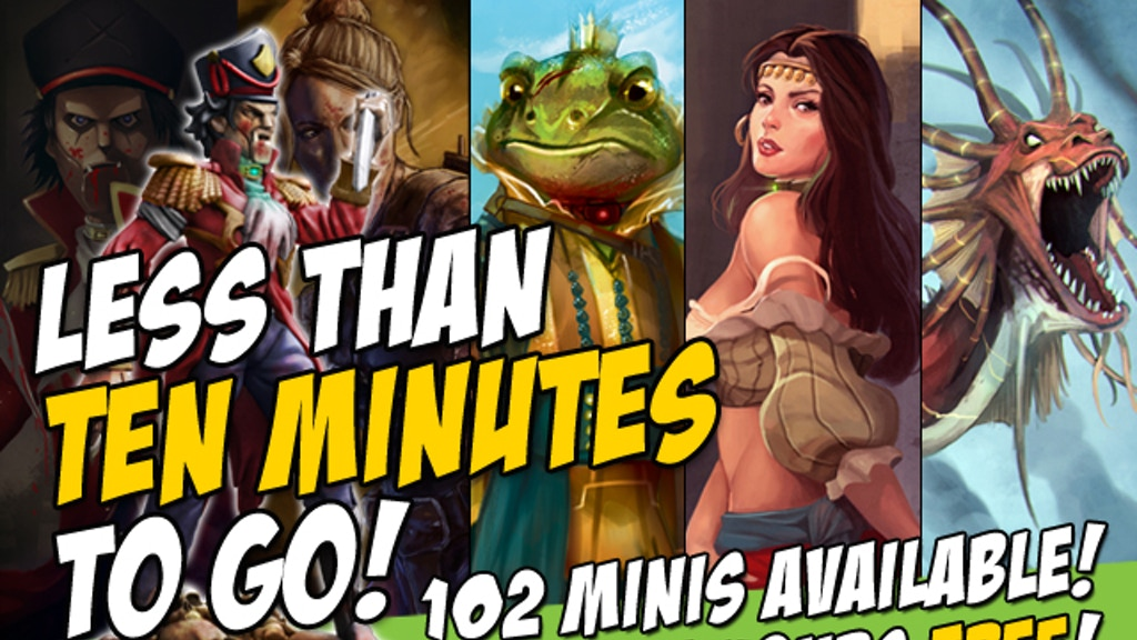 Fairytale Games: The Miniatures Campaign project video thumbnail