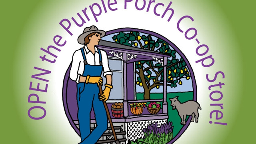 Open the Purple Porch Co-op Store! project video thumbnail