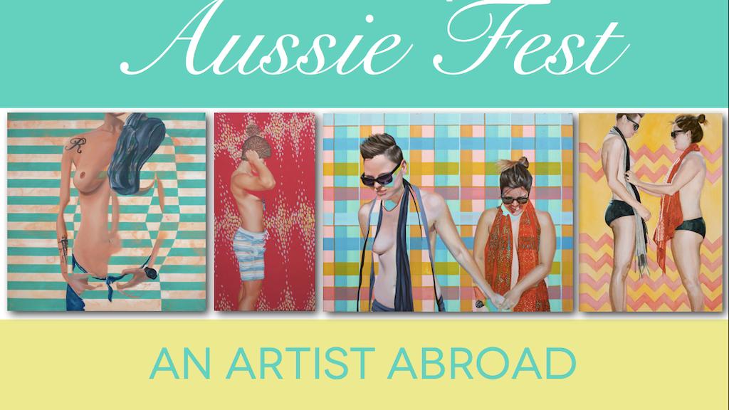 LGBTQ Aussie Fest:  an artist abroad project video thumbnail