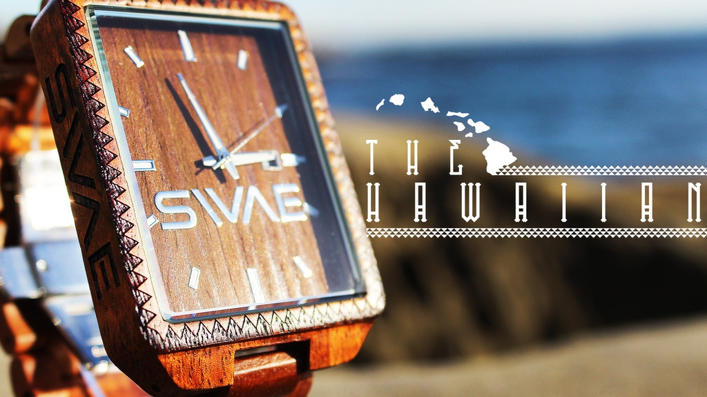 THE HAWAIIAN: A Watch Made With The Spirit Of Aloha! project video thumbnail