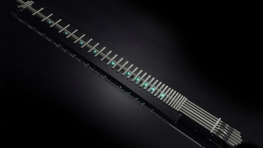 Project image for The World's First All Titanium Guitar - With No Body Or Neck