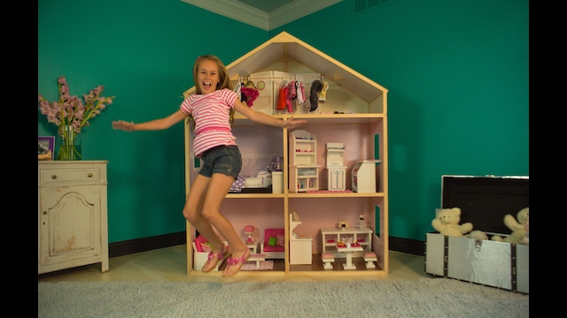 Dollhouse Photography Calendar : My girl s dollhouse the first home for inch dolls by