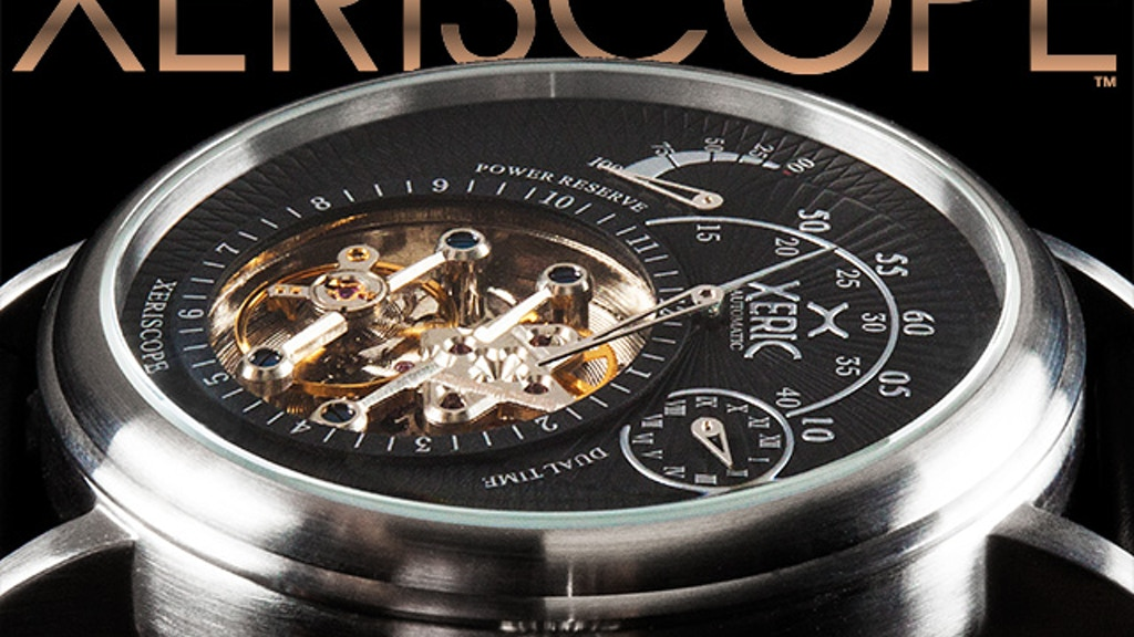 XERISCOPE: The Orbiting Mechanical Automatic Watch by XERIC project video thumbnail