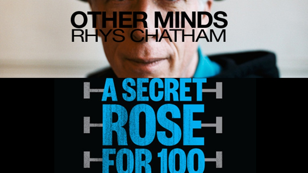 Rhys Chatham: A Secret Rose project video thumbnail