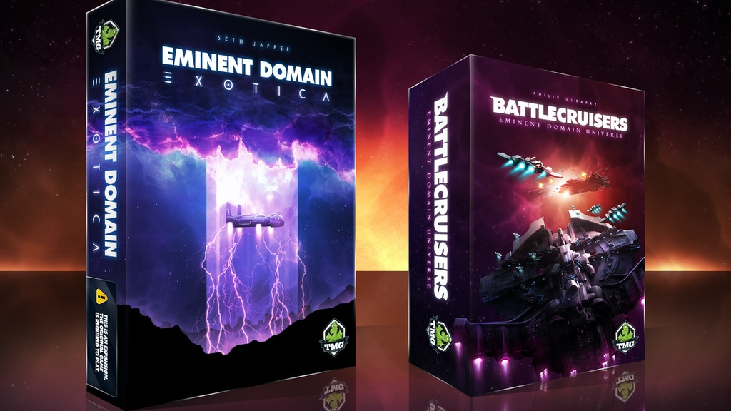 Eminent Domain: Battlecruisers & Exotica project video thumbnail