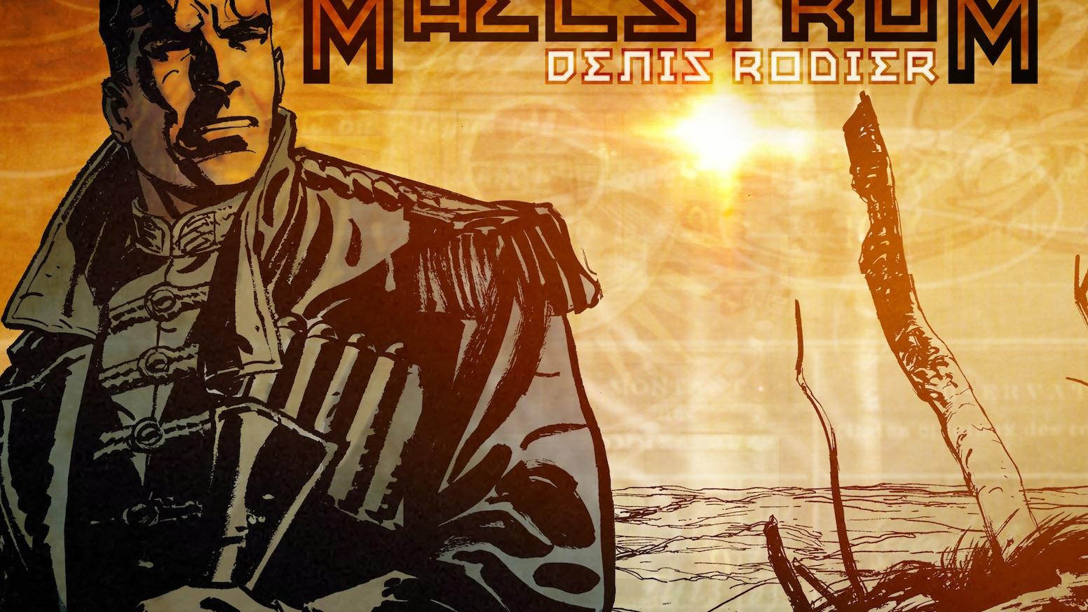 Le projet BD MAELSTROM est une réalité!-----------------------------The MAELSTROM graphic novel project is on!