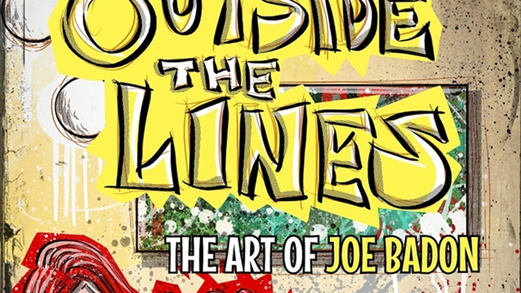 Outside The Lines - ART AND SHORT STORIES BOOK project video thumbnail