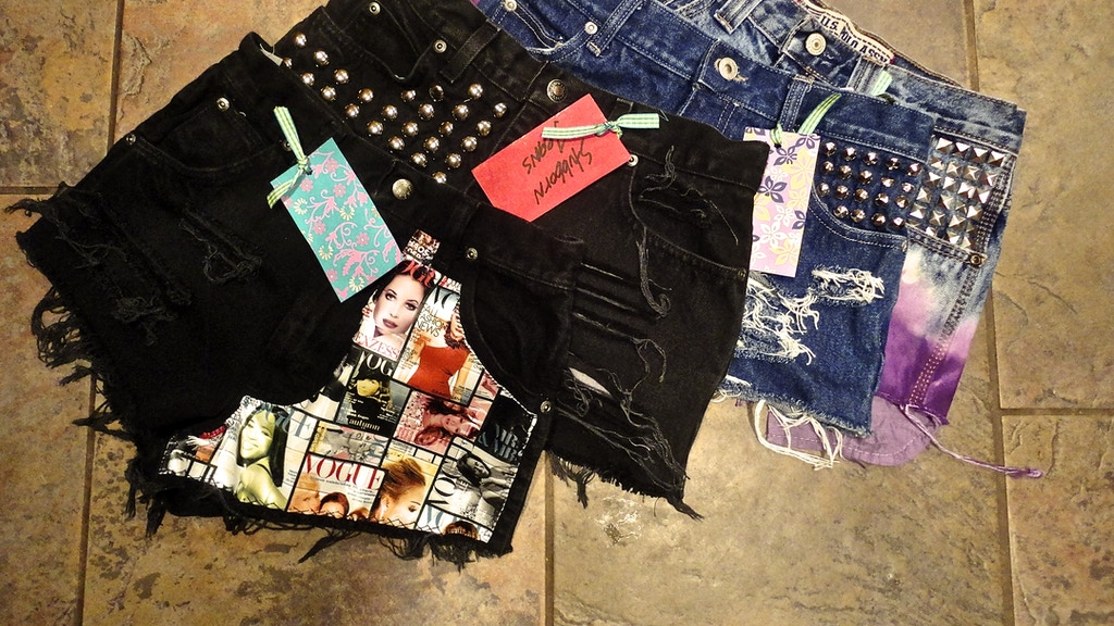 Stubborn Jeans - Upcycled Fashion by Daughter/Mother Team project video thumbnail