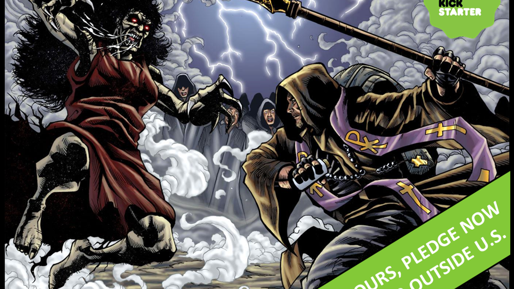 Final hours: CruZader™ graphic novel; cover by Paul Gulacy! project video thumbnail
