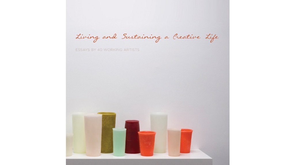 """""""Living and Sustaining a Creative Life"""" Book Tour project video thumbnail"""
