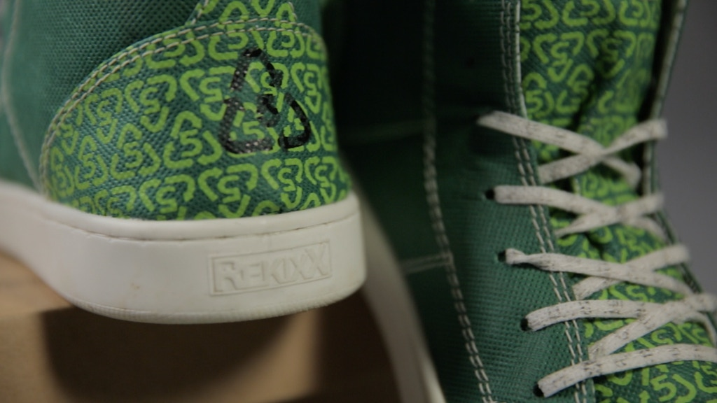 Project image for ReKixx: One-Of-A-Kind Landfill-Free Sneakers (Fall 2014)