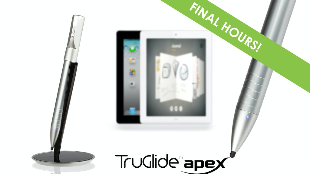 TruGlide Apex: Fine Point Electronic Stylus for iPad project video thumbnail