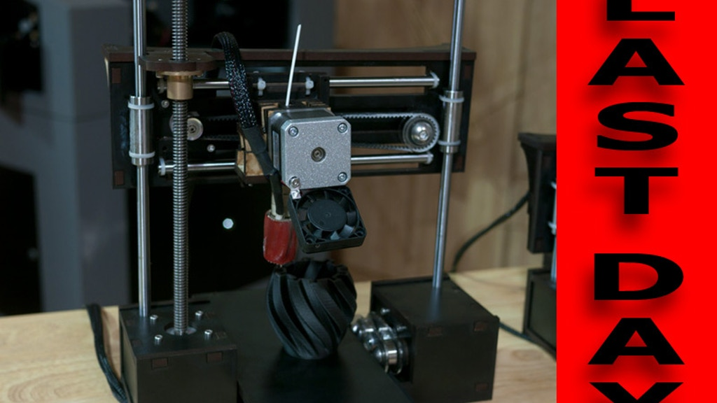 QU-BD One Up - Open Source Production Ready 3D Printer project video thumbnail