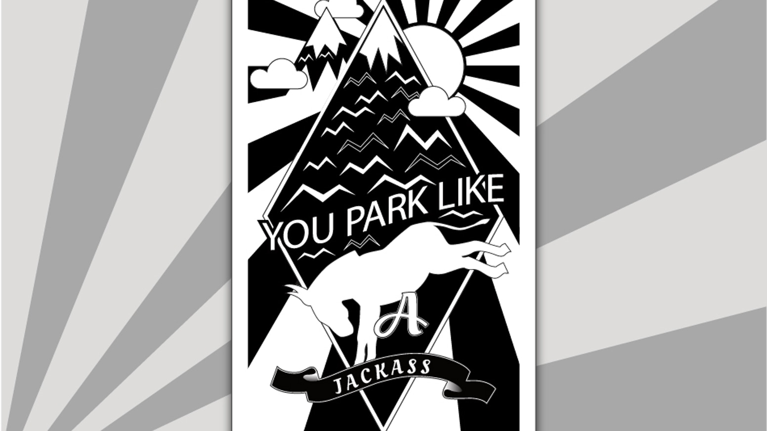 Bad parking business cards by josh avren faq kickstarter bad parking business cards reheart Choice Image