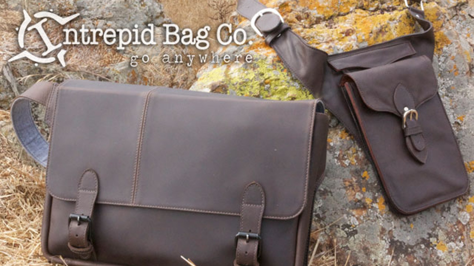 Premium leather travel bags with hands-free styling, crafted to comfortably fit a Laptop, an iPad/iPad Mini, and more.