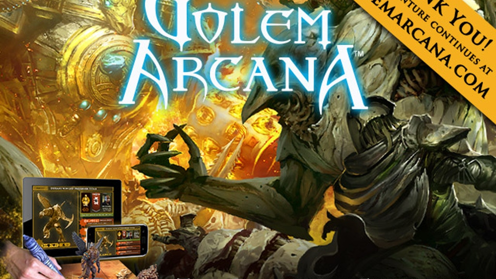 Golem Arcana project video thumbnail