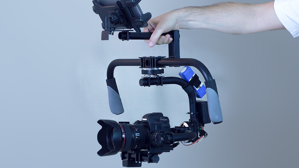 Project image for 3-axis stabilized video gimbal for DSLR and video cameras