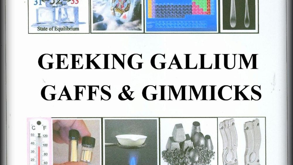 Geeking Gallium Gaffs & Gimmicks for Magical Effects project video thumbnail