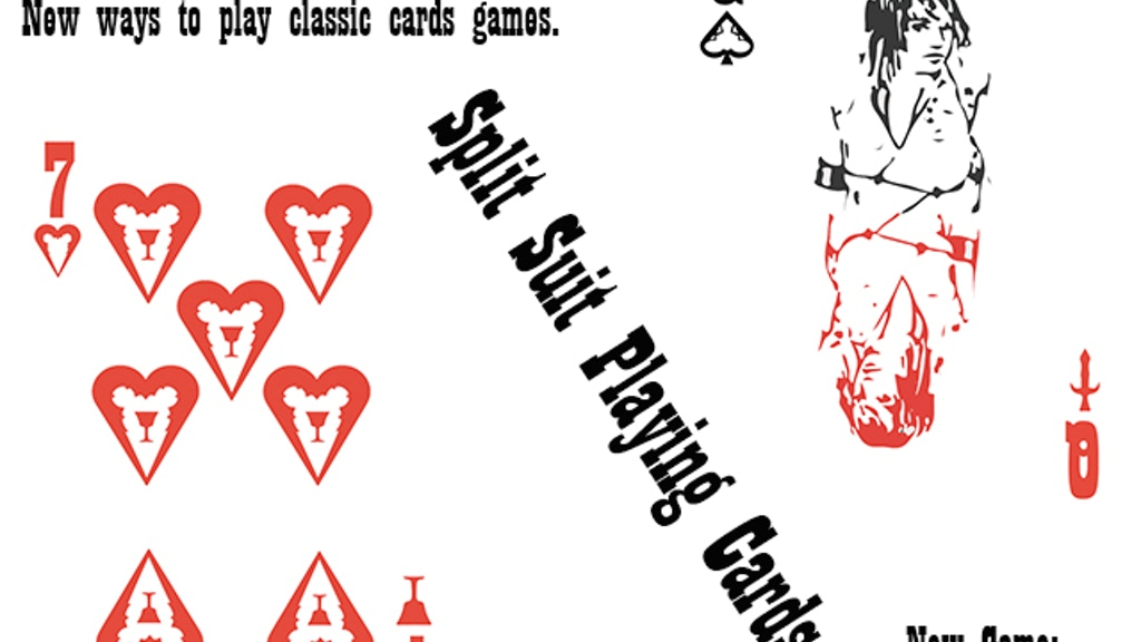 Split Suit Playing Cards project video thumbnail