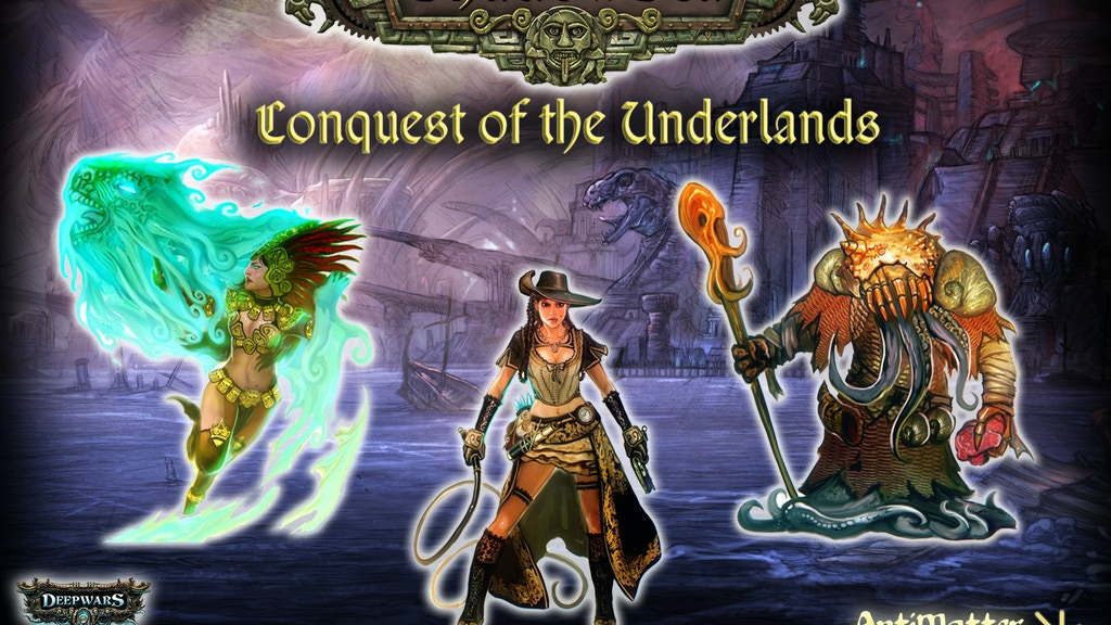ShadowSea - Conquest of the Underlands project video thumbnail