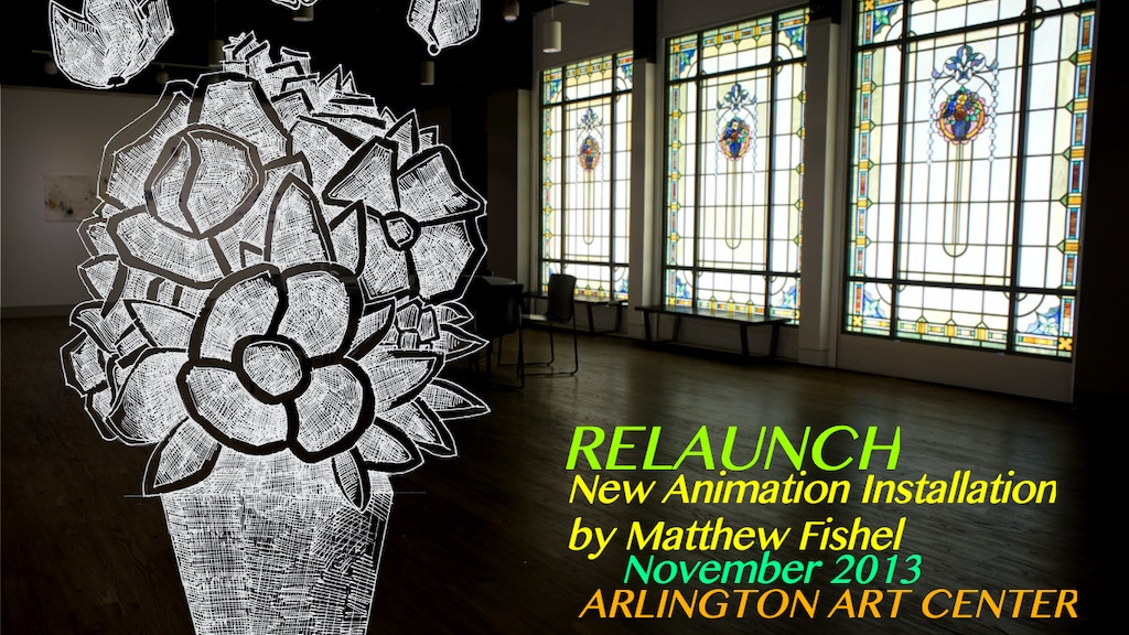 RELAUNCH: a New Animation Installation for November 2013 project video thumbnail
