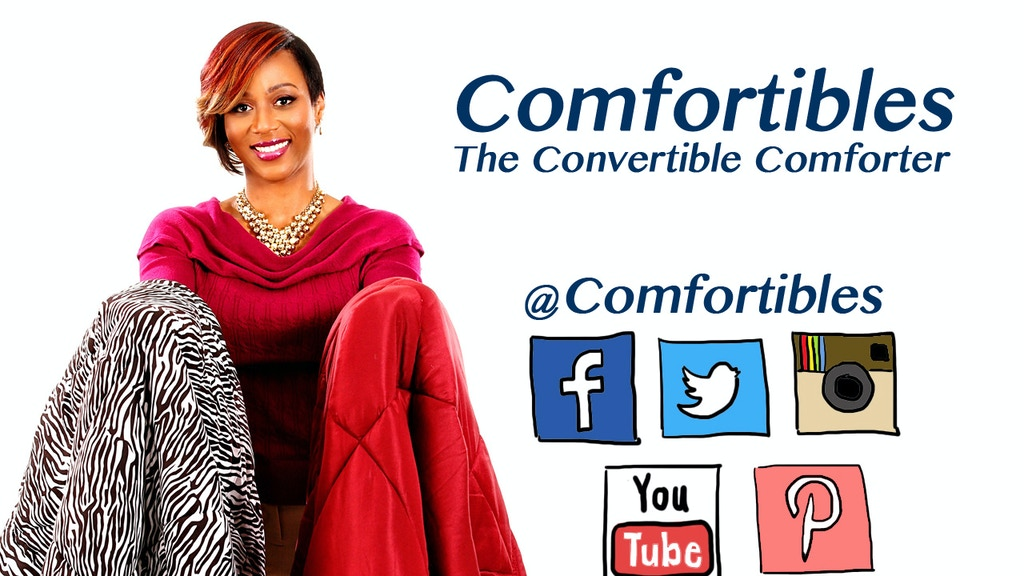 Comfortibles, The Convertible Comforter project video thumbnail