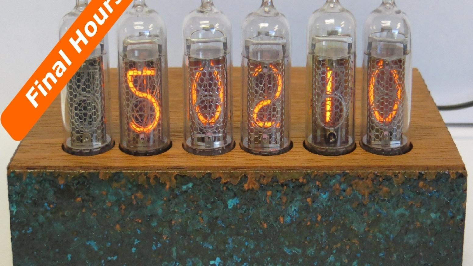 Nixie Tube Clock Project by James Budai — Kickstarter