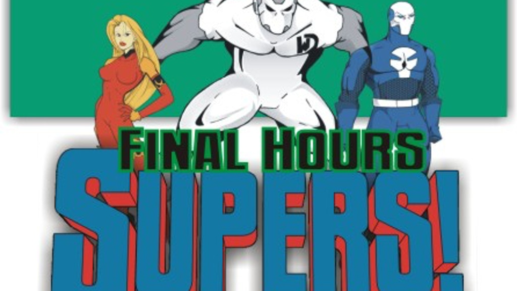 SUPERS! The Comic Book RPG (Revised) project video thumbnail