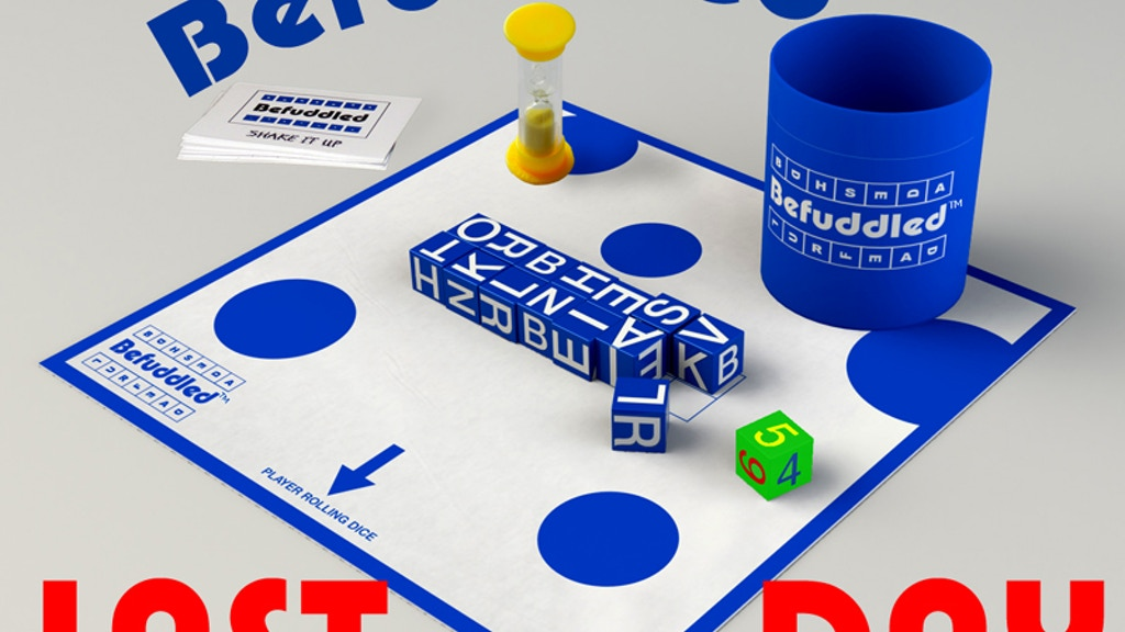 BEFUDDLED - The Exciting New Word Game In A Cup project video thumbnail