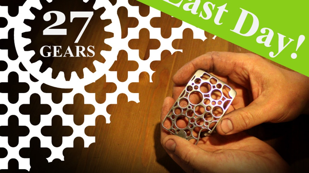 27 Gears Fashion - Belt Buckles, Bottle Openers, & Earrings project video thumbnail