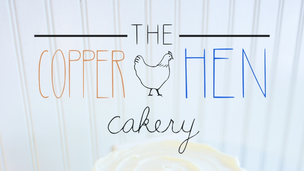 The Copper Hen Cakery project video thumbnail