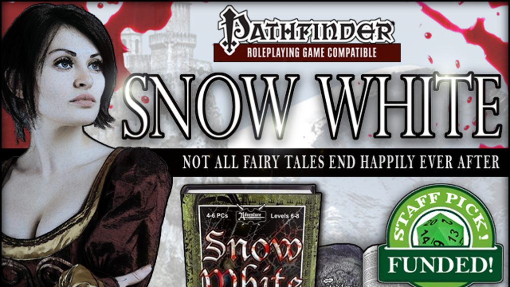 Snow White - An Adventure for Pathfinder RPG and D&D 3.5 project video thumbnail