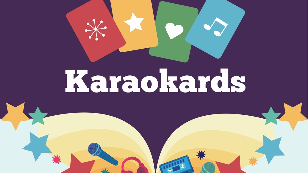 Karaokards: a card game for people who love music project video thumbnail